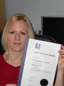 KT Certificate